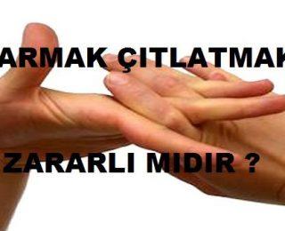Parmaklarımızı Neden Çıtlatırız?