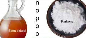 No Poo sirke ve karbonat