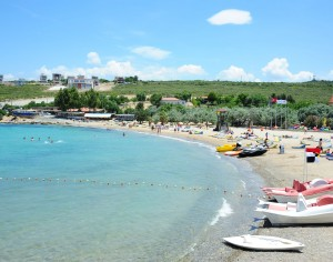 Seferihisar Akkum plajı