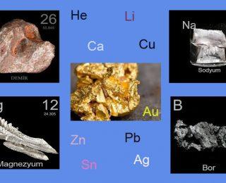 Elementler ve Kullanım Alanları