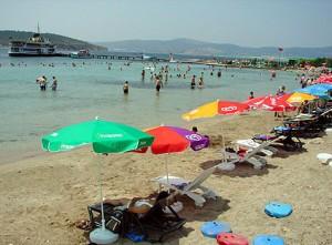 izmir yassıcaada plajı