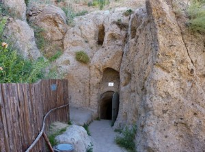 urgup mazi yeralti sehri