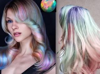 Saçlarda Yeni Trend: Opal Renk Saçlar
