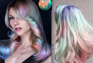 opal renk saclar