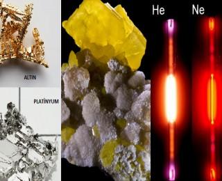 Elementlerin Sınıflandırılması-Metaller, Ametaller, Yarı Metaller ve Soygazlar