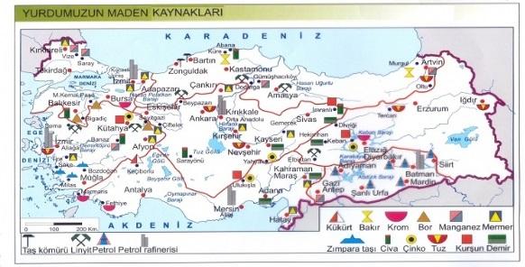 maden haritasi