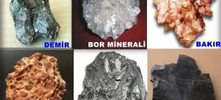 Türkiye'deki En Önemli Madenler ve Çıkarıldıkları Yerler
