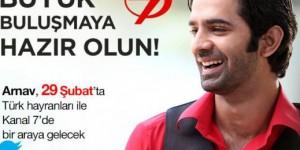 Barun Sobti Türkiye'ye Geliyor