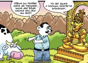 Hinduizm-karikatur