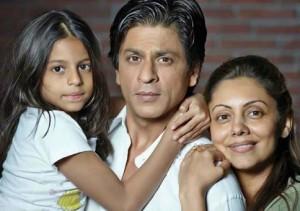 Shahrukh-Khan-aile