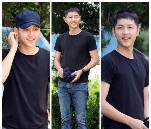 Song Joong-Ki-askerlik