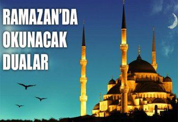 Ramazan Ayında Gün Gün Okunacak Dualar