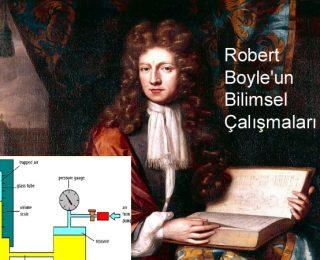 Robert Boyle'un Bilimsel Çalışmaları