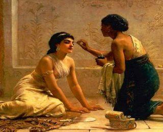Osmanlı Haremindeki Cariyelerin Güzellik Sırları