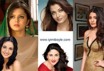 En Çok Sevilen Hintli Bayan Oyuncular
