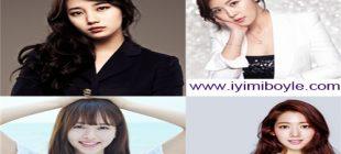 En Çok Sevilen Güney Koreli Kadın Oyuncular