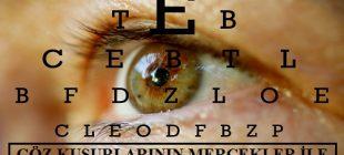 Işığın Kırılması ve Mercekler-4: Mercekler ile Göz Kusurlarının Giderilmesi