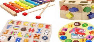 Çocuklar için 8 eğitici oyuncak
