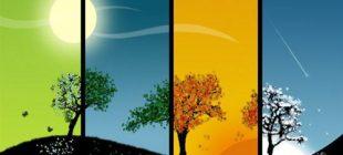 Mevsimlerin Oluşumu