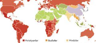 Hristiyan Nüfusun En Yoğun Olduğu Ülkeler