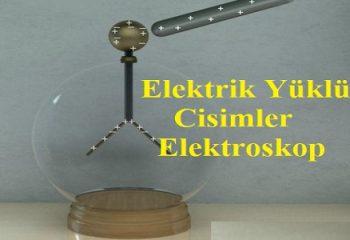 Elektrik Yüklü Cisimler: Elektroskop