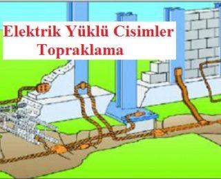 Elektrik Yüklü Cisimler: Topraklama
