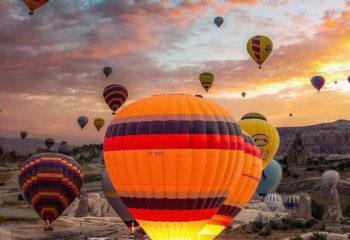 Türkiye'nin İlk Balon Festivali Kapadokya Festivali