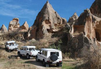 Kapadokya'da Jeep Safari