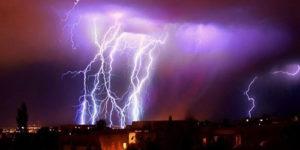 Elektrik Yüklü Cisimler: Atmosferdeki Doğal Elektriklenme